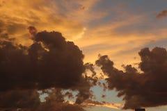 Nubes de tormenta hermosas Fotografía de archivo libre de regalías