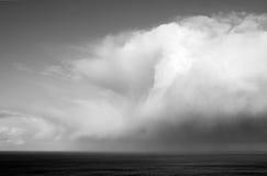 Nubes de tormenta que remolinan foto de archivo libre de regalías