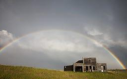 Nubes de tormenta Saskatchewan Imagenes de archivo