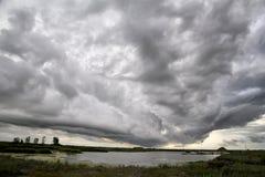Nubes de tormenta Saskatchewan Fotografía de archivo libre de regalías