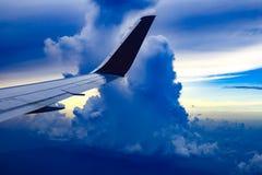 Nubes de tormenta sobre las llaves de la Florida Imagen de archivo