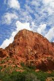 Nubes de Zion Kolob Imagen de archivo libre de regalías