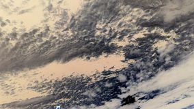 Nubes del agua Imagen de archivo libre de regalías
