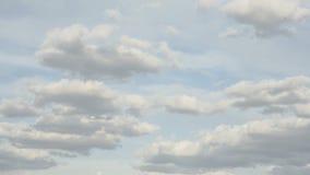 Nubes del balanceo de Timelapse almacen de video