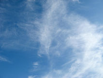 Nubes del cielo Foto de archivo