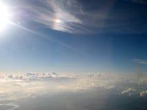 Nubes del cielo Foto de archivo libre de regalías