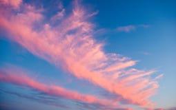 Nubes del conejo Fotos de archivo