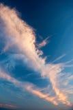 Nubes del conejo Fotografía de archivo libre de regalías