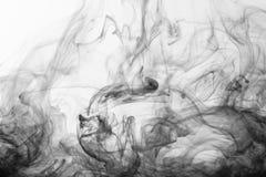 Nubes del humo Imagen de archivo