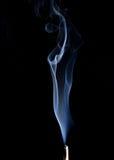 Nubes del humo Foto de archivo libre de regalías