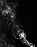 Nubes del humo Fotos de archivo libres de regalías