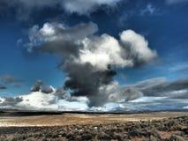 Nubes del invierno Imagen de archivo libre de regalías