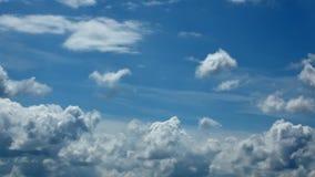 Nubes del lapso de tiempo metrajes