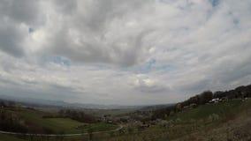 Nubes del lapso de tiempo