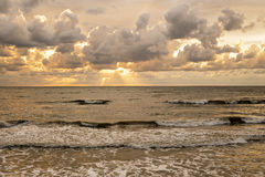 Nubes del otoño Fotografía de archivo libre de regalías