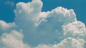Nubes del verano almacen de video