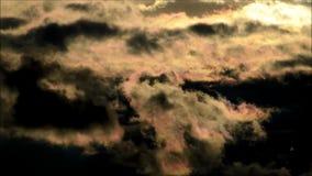 Nubes del verano de Berlín, Alemania almacen de metraje de vídeo