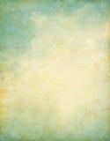 Nubes del vintage del Grunge Imagen de archivo