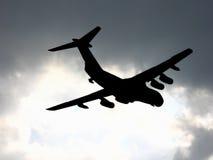 Nubes del vuelo Fotos de archivo