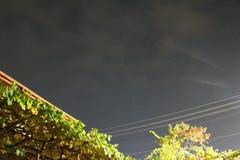 Nubes del vuelo Fotos de archivo libres de regalías