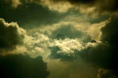 Nubes después de la tormenta Imagen de archivo libre de regalías