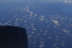 Nubes dispersadas Fotos de archivo libres de regalías