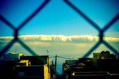 Nubes distantes Imágenes de archivo libres de regalías