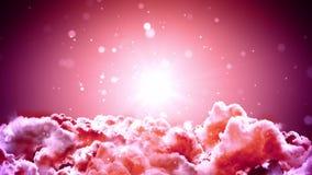 Nubes distantes del espacio