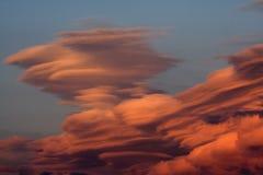 Nubes dramáticas fotos de archivo libres de regalías