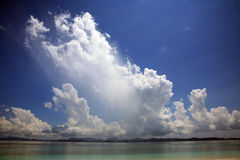 Nubes dramáticas Imagenes de archivo