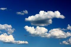 Nubes en cielo Foto de archivo libre de regalías