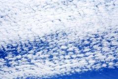 Nubes en cielo Fotos de archivo