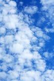 Nubes en cielo Fotos de archivo libres de regalías