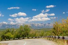 Nubes en Crimea fotografía de archivo