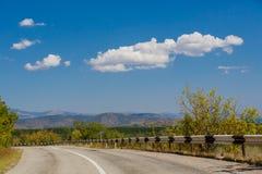 Nubes en Crimea imagen de archivo