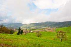 Nubes en el Apennines Imagen de archivo libre de regalías