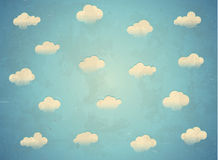 Nubes en el cielo libre illustration