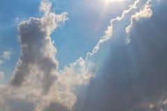 Nubes en el cielo Fotografía de archivo libre de regalías