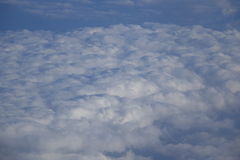 Nubes en el cielo stock de ilustración