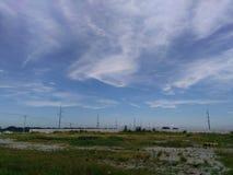 Nubes en el cielo Imagen de archivo libre de regalías