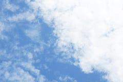 Nubes en el cielo Foto de archivo
