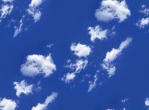 Nubes en el cielo como inconsútil Foto de archivo libre de regalías