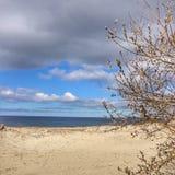 Nubes en el mar Imagen de archivo libre de regalías