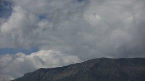 Nubes en Himalaya almacen de video