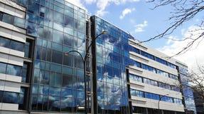 Nubes en la reflexión Imagen de archivo