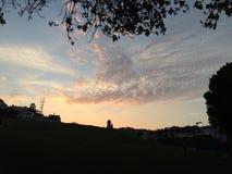 Nubes en las nubes Foto de archivo libre de regalías