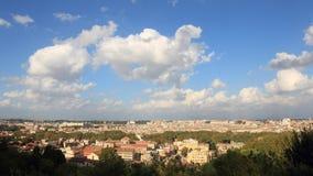 Nubes en Roma almacen de metraje de vídeo