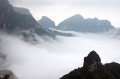 Nubes en Tashan Imágenes de archivo libres de regalías