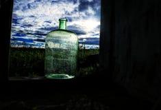 Nubes en una botella Imagen de archivo