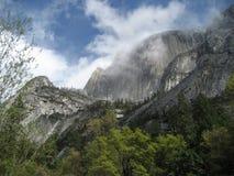 Nubes en Yosemite Foto de archivo libre de regalías